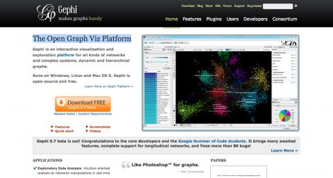 Tool Entry: Gephi: The Open Graph Viz Platform | Virtual Tool