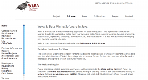 weka 3 data mining software in java download